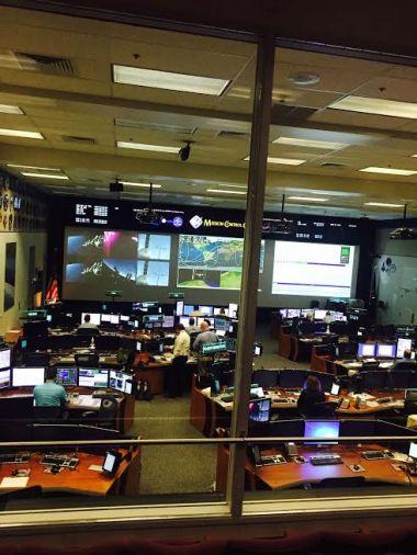 ISS Misison Control