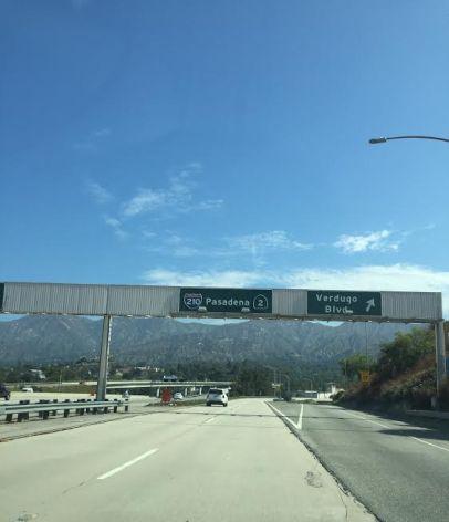 Exit to Pasadena