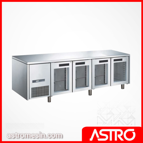 Glass Door Under Counter 5 Pintu