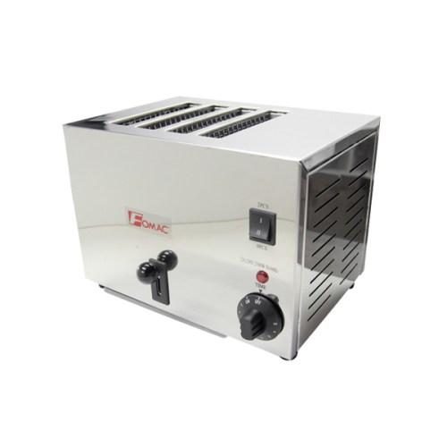 Bread Toaster Alat Panggang Roti Fomac 4 Slot Stainless Steel