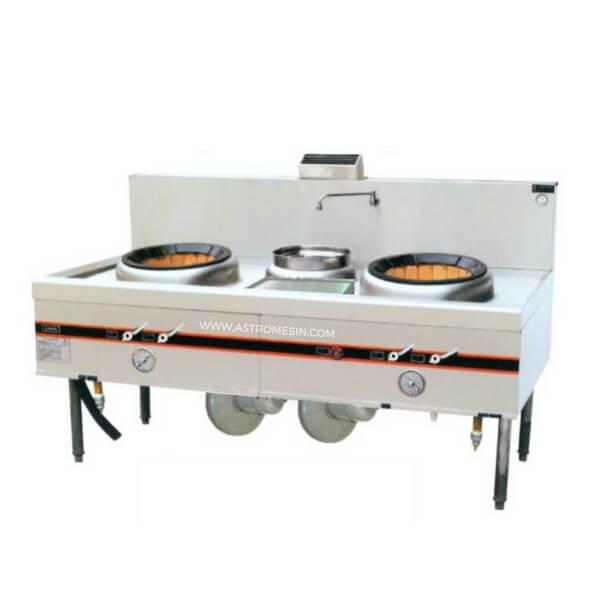 Gas Kwali Range 2 burner 1 soup blower GETRA