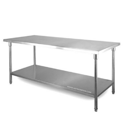Meja Stainless Steel Working Table With WK Series GETRA