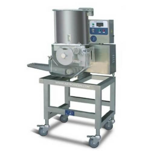 Mesin Cetak Daging Hamburger dan Nugget Otomatis