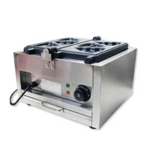 Mesin Cetakan Kue Waffle Berbentuk Ikan FOMAC