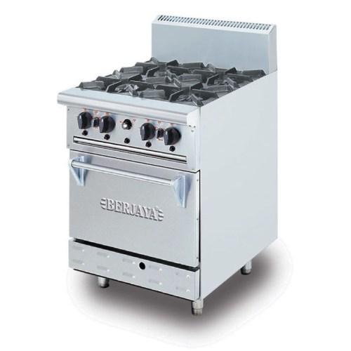 BERJAYA Deluxe Range Oven With Open Burner DRO4L