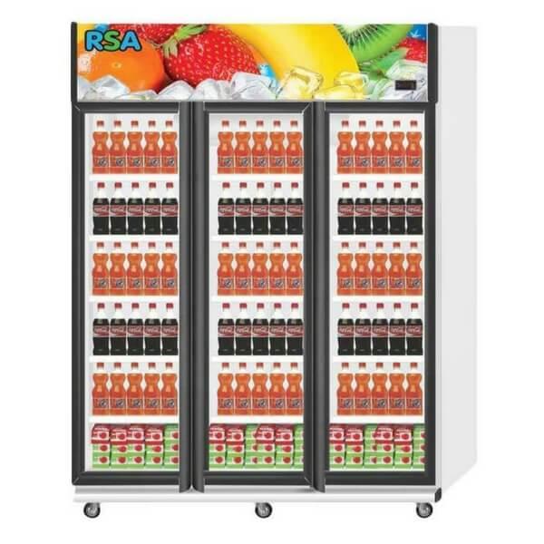 Showcase Cooler 3 Pintu RSA