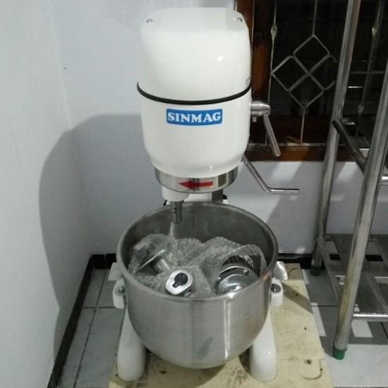 Jual Planetary Mixer SINMAG SM 201 | Harga Mixer Roti 20 Liter Taiwan