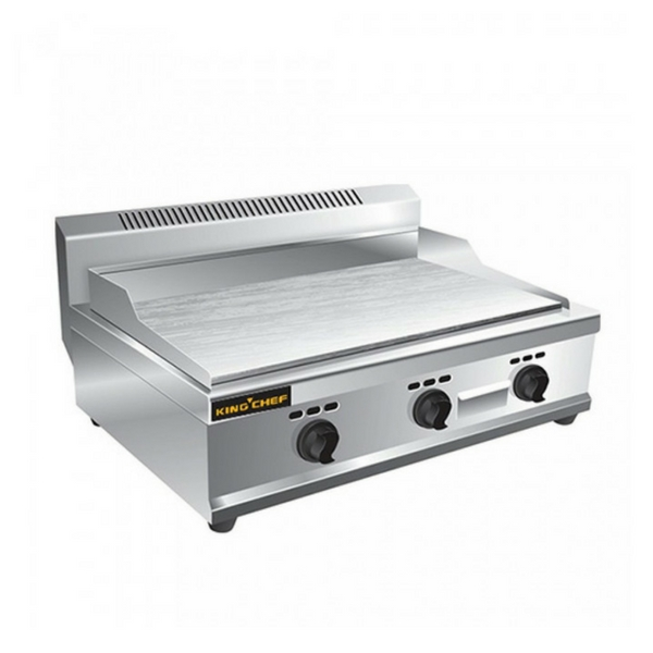 Mesin Gas Griddle 3 Burner