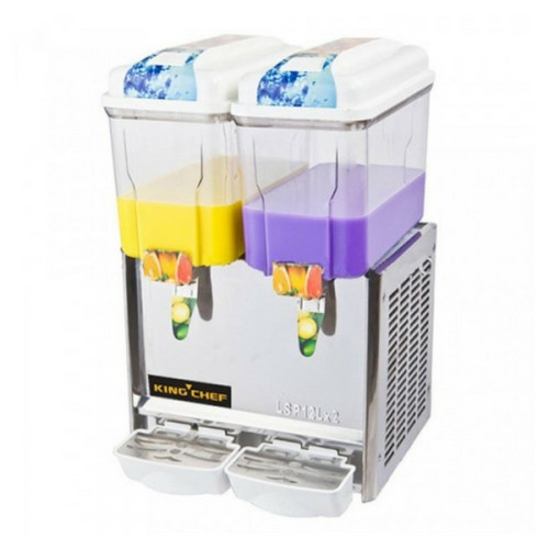 Mesin Juice Dispenser Panas Dingin ASTRO 2 Tabung