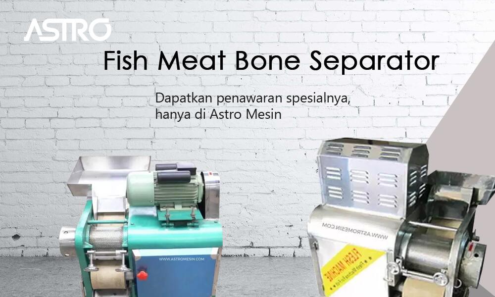 Banner Fish Meat Bone Separator / Mesin Pemisah Tulang Ikan