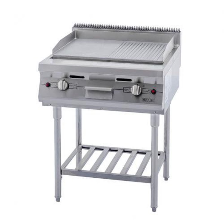 Gas Open Griddle Broiler Getra RPD 48