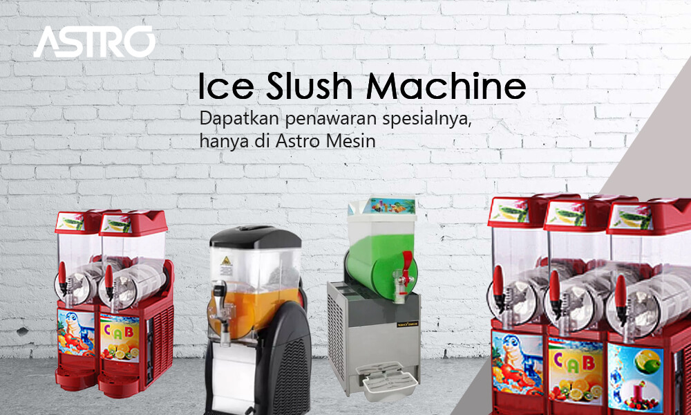Banner Ice Slush Machine / Mesin Es Salju