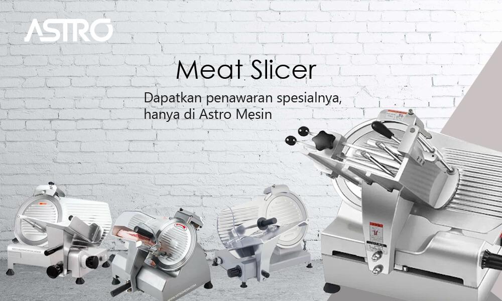 Banner Mesin Meat Slicer