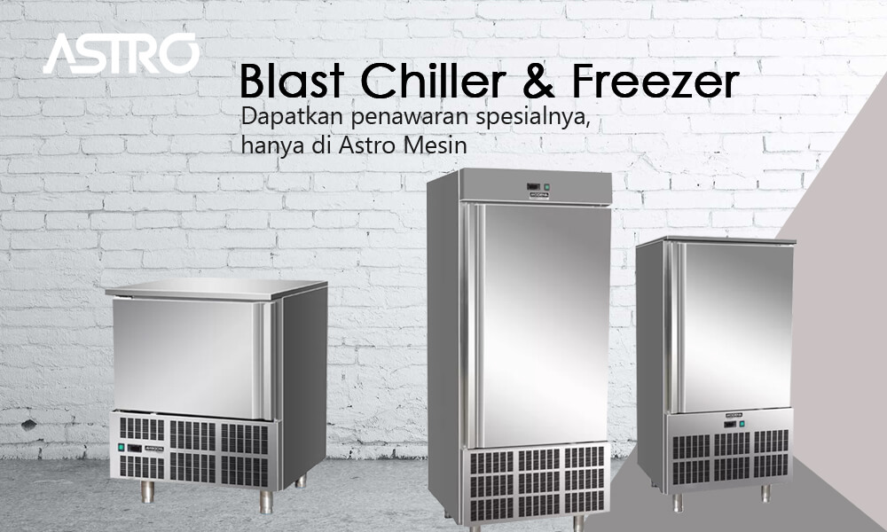 Mesin Blast Chiller Freezer
