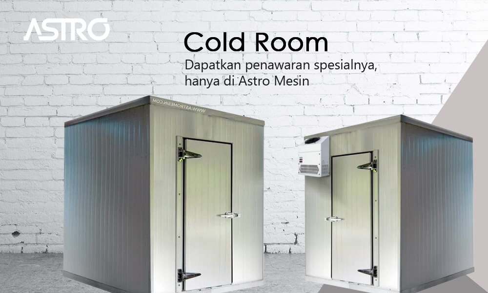 Banner Mesin Cold Room atau Cold Storage