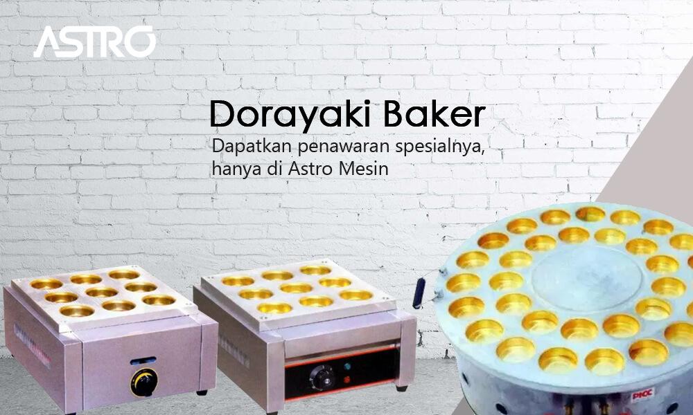 Banner Mesin Kue Dorayaki Baker