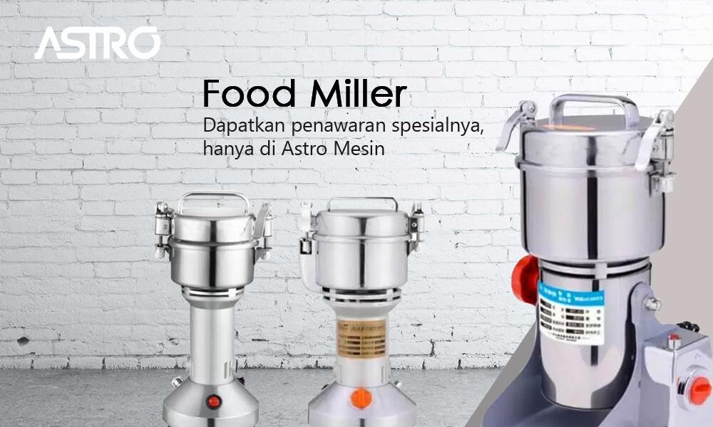 Banner Mesin Food Miller / Mesin Penepung