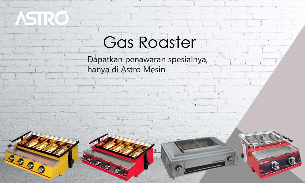 Banner Mesin Gas Roaster / Alat Panggangan Sosis