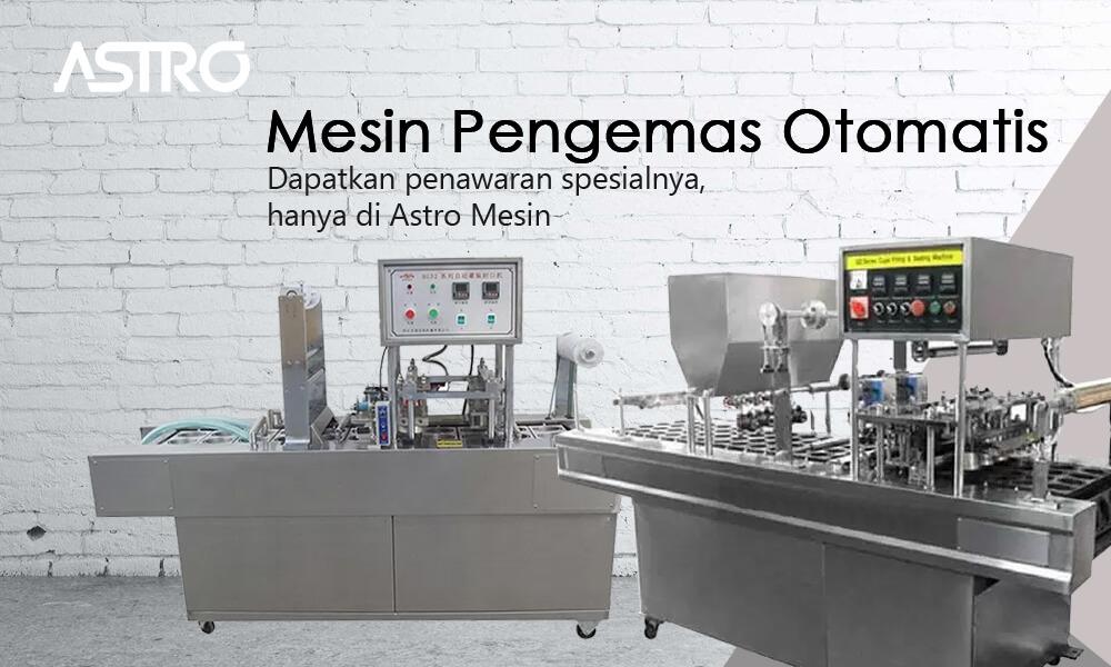 Banner Mesin Pengemas Otomatis