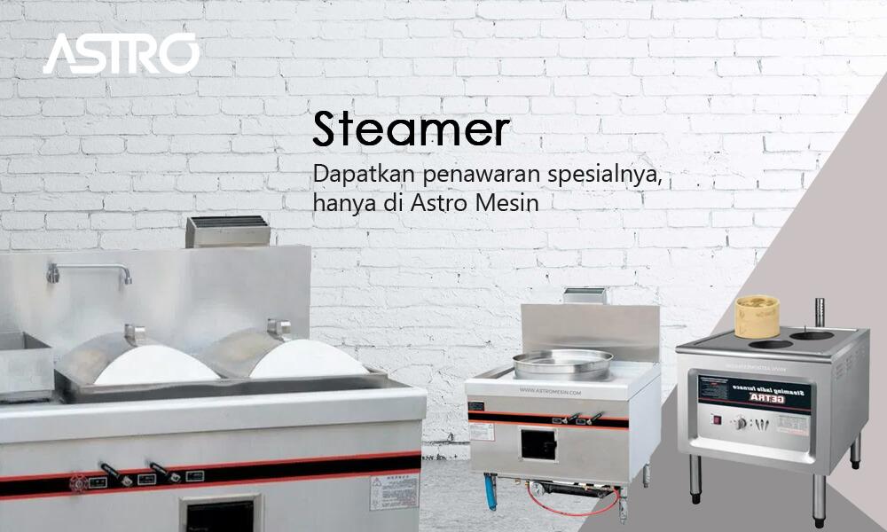 Banner Mesin Steamer Pengukus