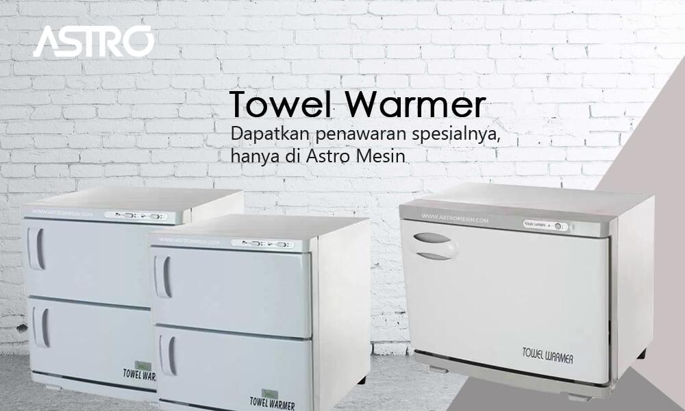 Mesin Towel Warmer atau Mesin Penghangat Handuk atau Mesin Pemanas Handuk
