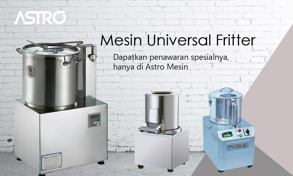 Mesin Universal Fritter - Mesin Giling Bumbu - Food Processor