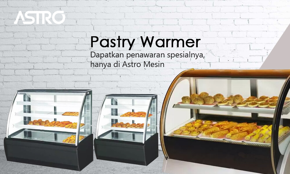 Banner Mesin Pastry Warmer