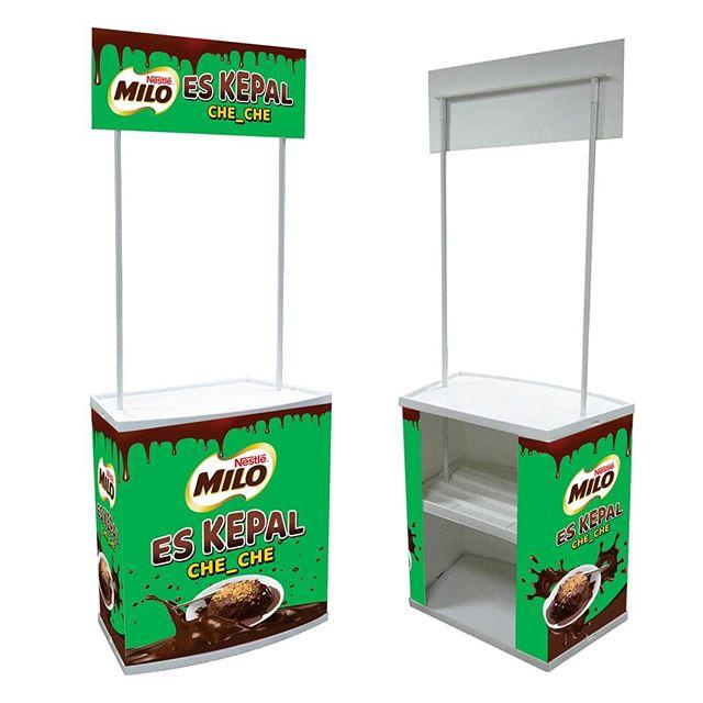 Booth Es Kepal Milo