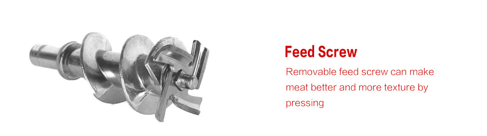 Feed Screw Meat Grinder