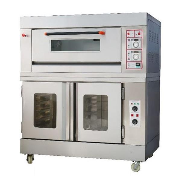 Oven Gas Combi Proofer RFL 12SS+FJ10