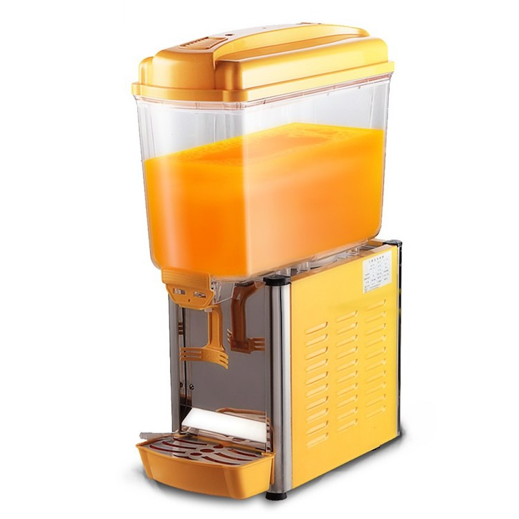 Mesin Juice Dispenser Pendingin Minuman 1 Tabung