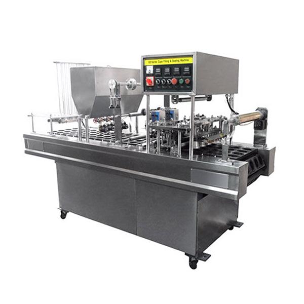 Mesin Pengemas Otomatis Cup Sealing dan Filling