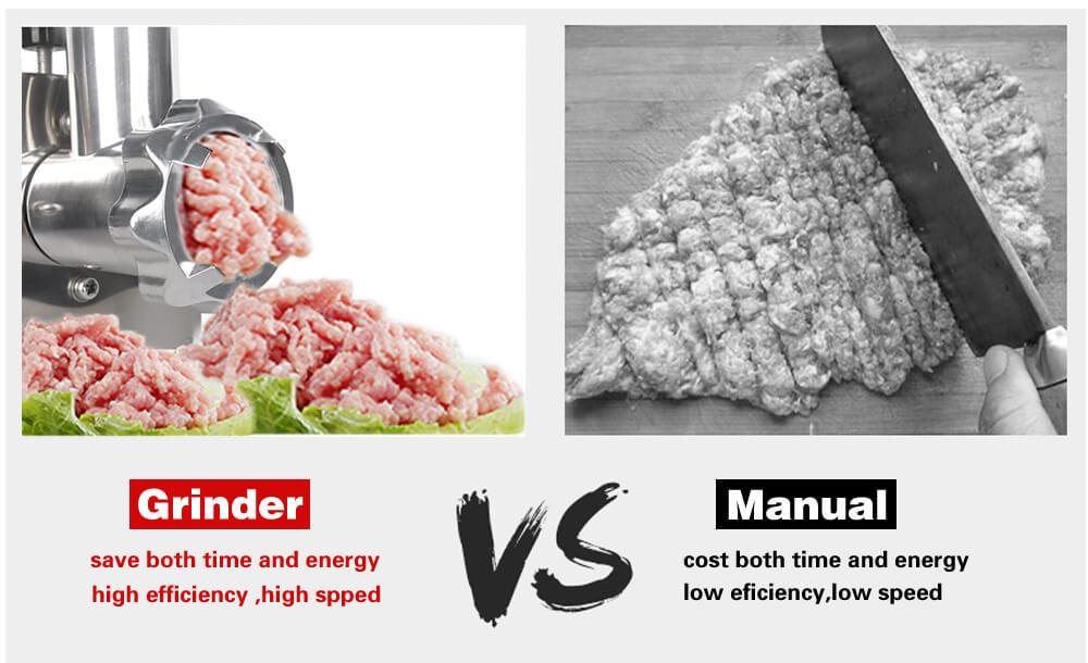 Otomatis Vs Manual Meat Grinder