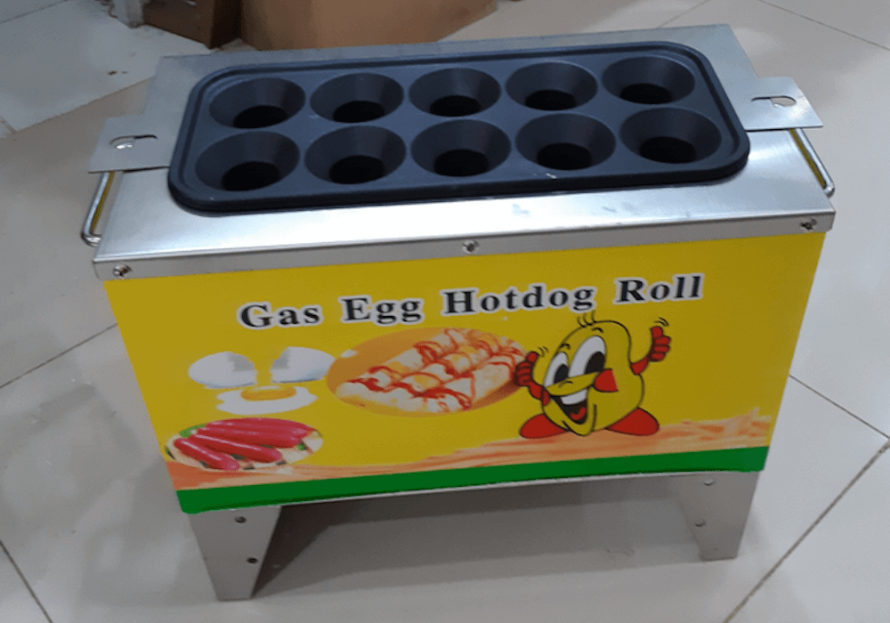 Mesin Sosis Telur Gas Egg Roll Astro
