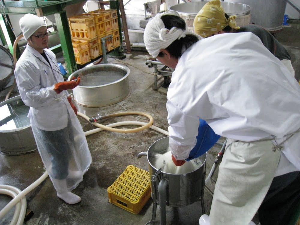 Proses Cuci Beras