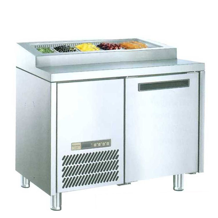Undercounter Chiller For Salad Pizza 1 Door