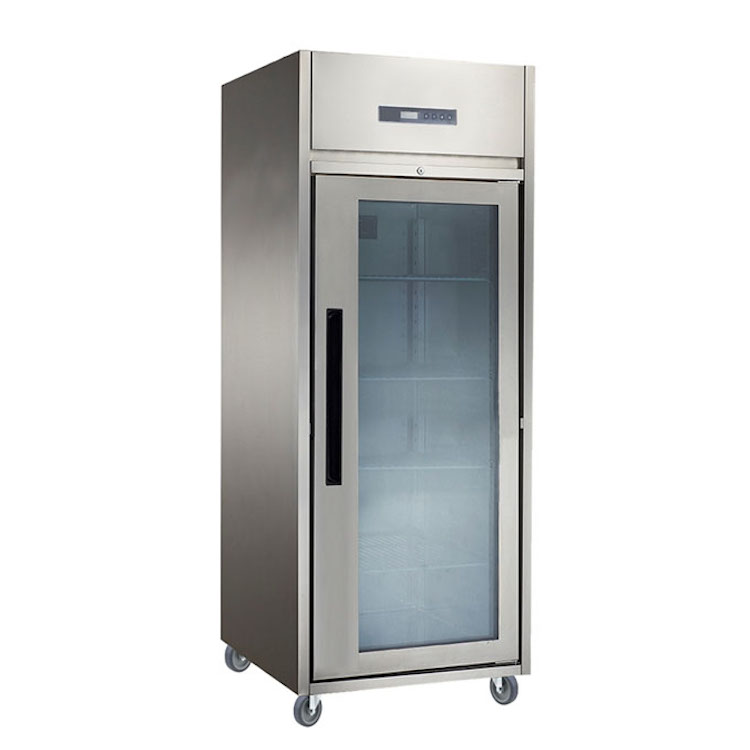 Upright Chiller Glass Door 1 Pintu