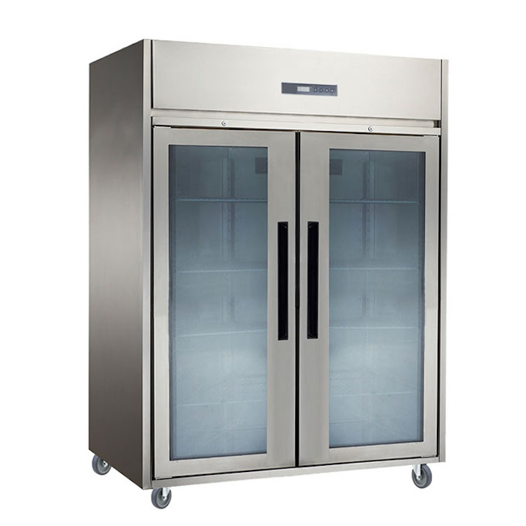 Upright Chiller Glass Door 2 Pintu