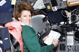 Eileen Collins - first female Shuttle Commander