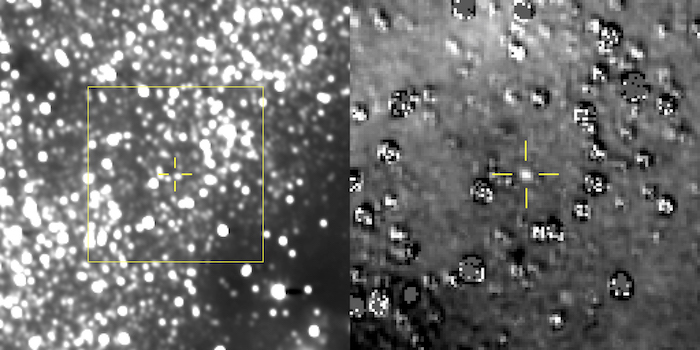Potret Ultima Thule yang diambil New Horizons. Kredit: NASA