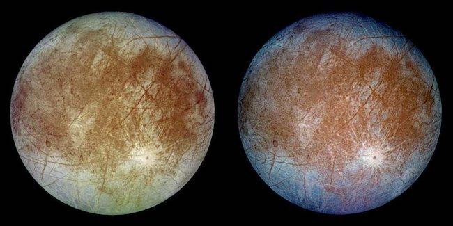 Citra Europa, satelit Jupiter. Kredit: NASA/JPL-Caltech/DLR