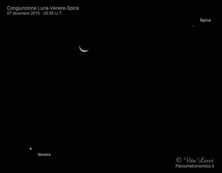 congiunzione-Luna-Venere-Spica