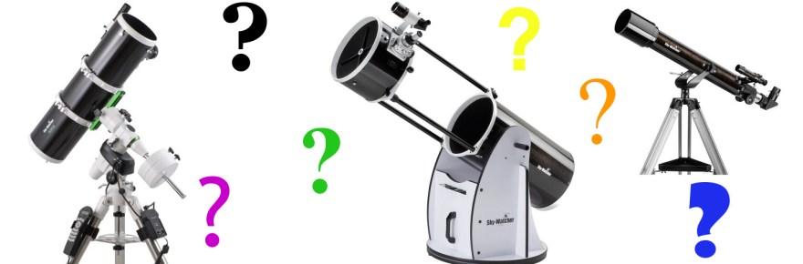 Quel télescope choisir ?