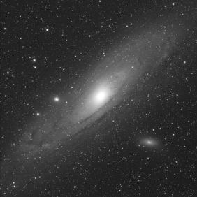 Galaxie d'Andromède M31 par Rémi Petitdemange