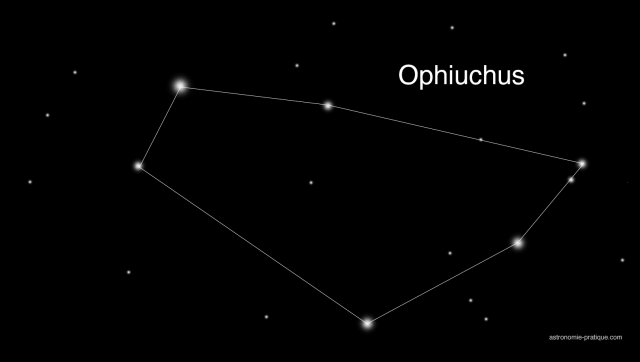 constellation d'Ophiuchus
