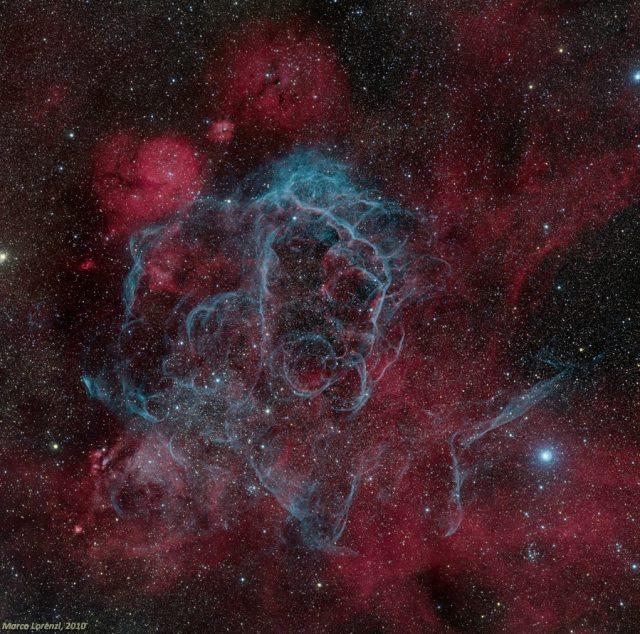 rémanent de supernova des Voiles