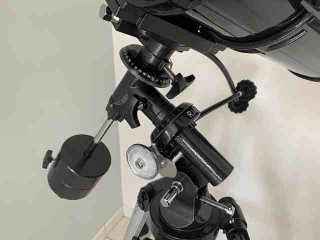 Monture du télescope