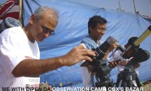 Happy moments with Dr. Dipen in Solar ecplise camp'10