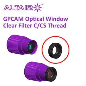 Altair GPCAM Clear Optical Window with AR Coating (OW-GP-CLEAR)