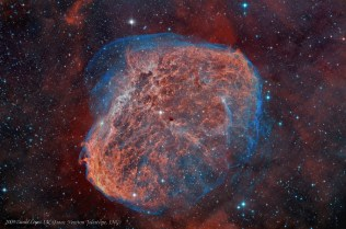 The Crescent Nebula.